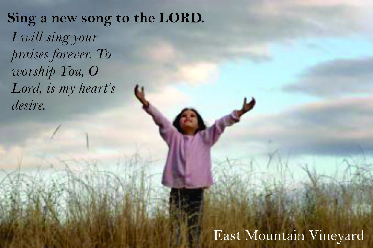 Worship the lord with new songs – part 9