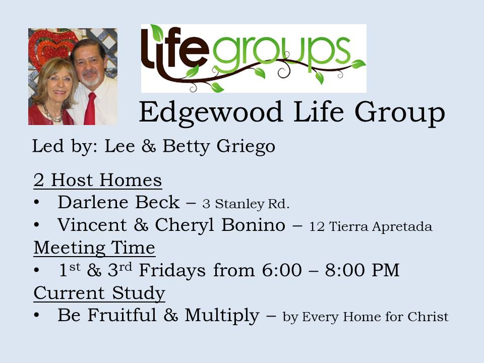Edgewood life group
