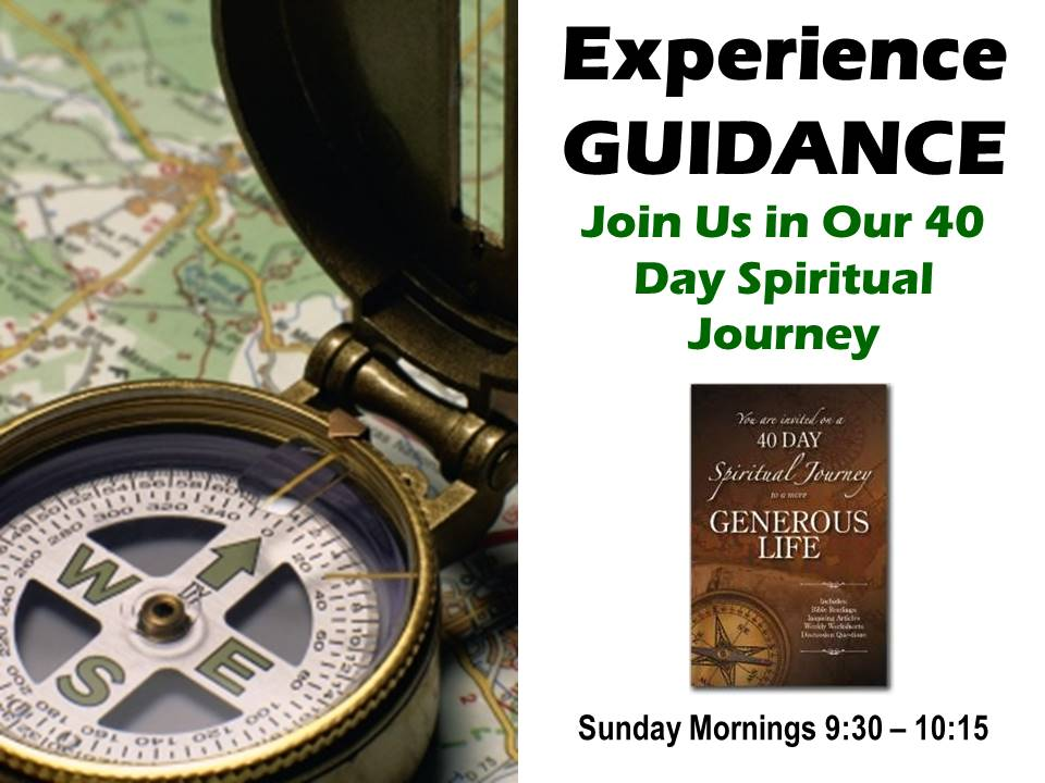 Experience Guidance
