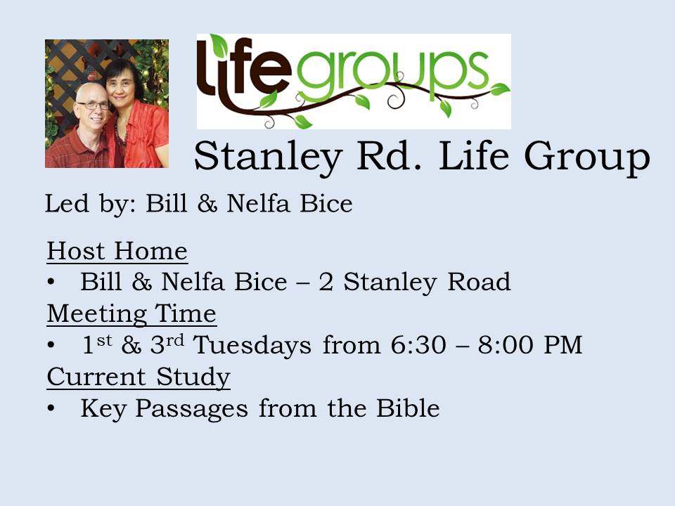 Stanley Rd. Life Group