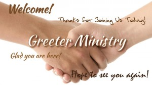 Greeting Ministry
