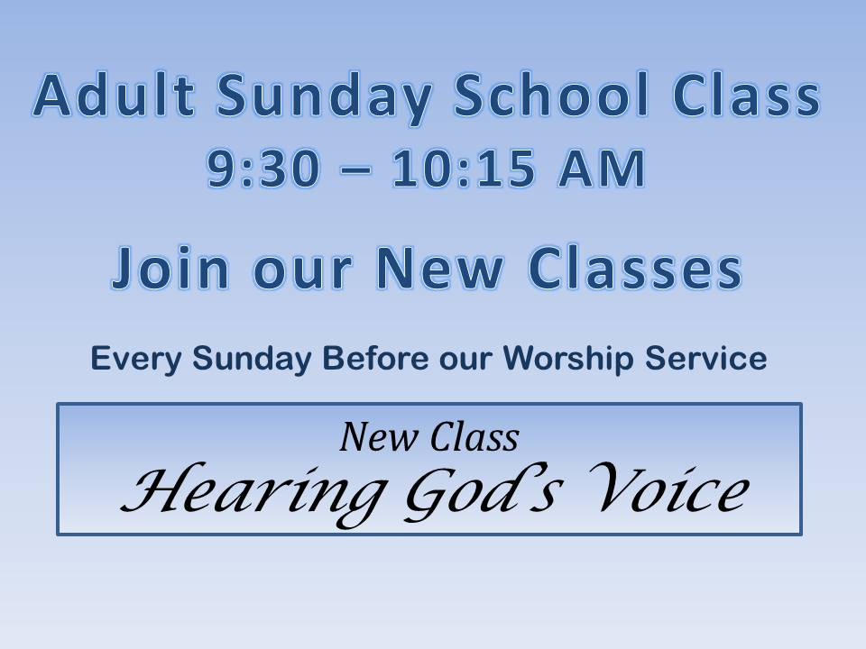 hearing gods voice classes