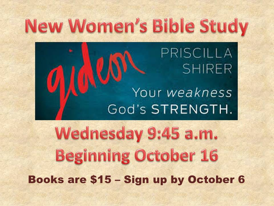 womens bible study oct 16