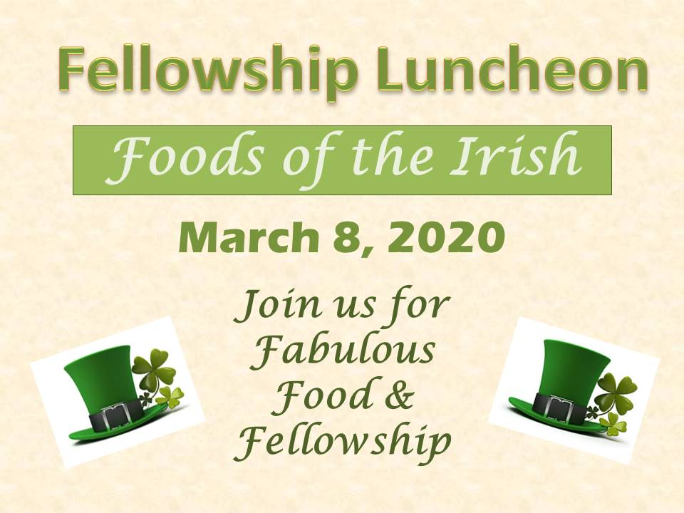March luncheon 2020