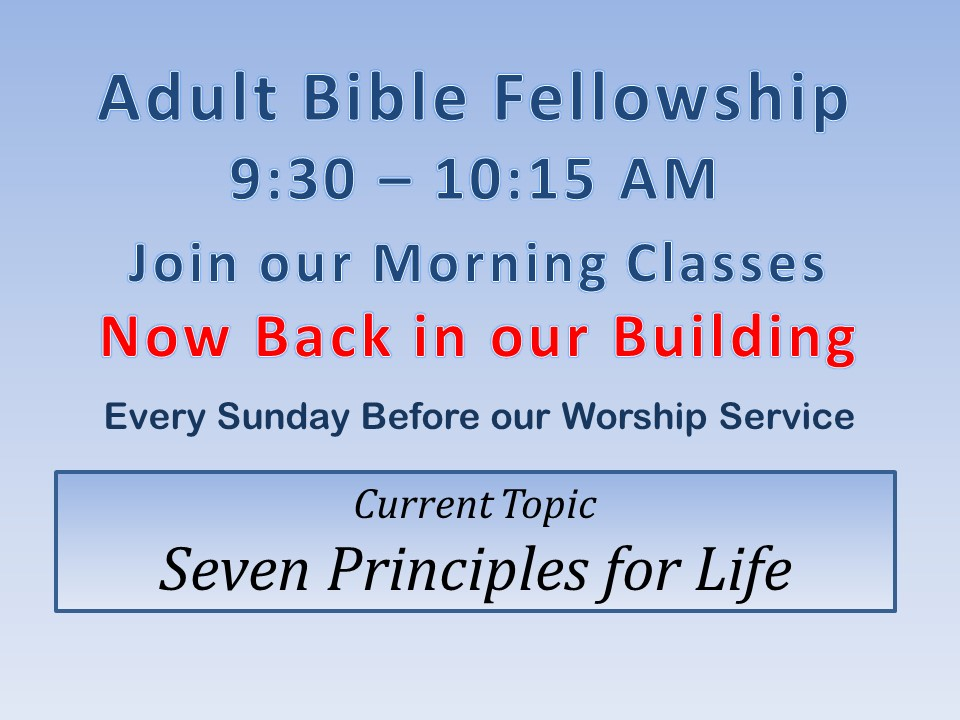 ABF - Seven Principles for Life